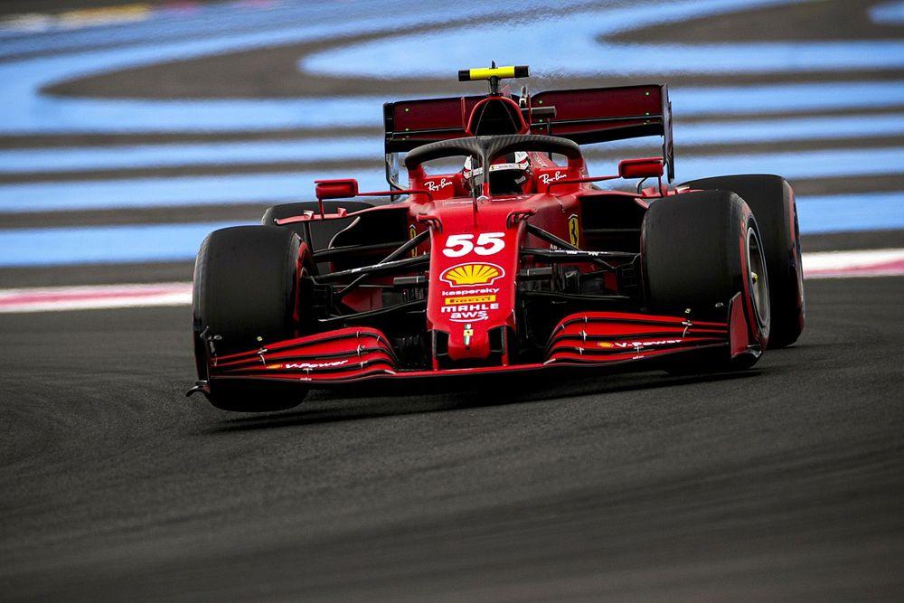 Sainzot lenyűgözte, ahogyan a Ferrari megoldotta a gumigondokat a Francia Nagydíj után