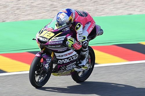 Moto3 Almanya sıralama turları: Salac pole pozisyonunu aldı, Deniz 11. oldu