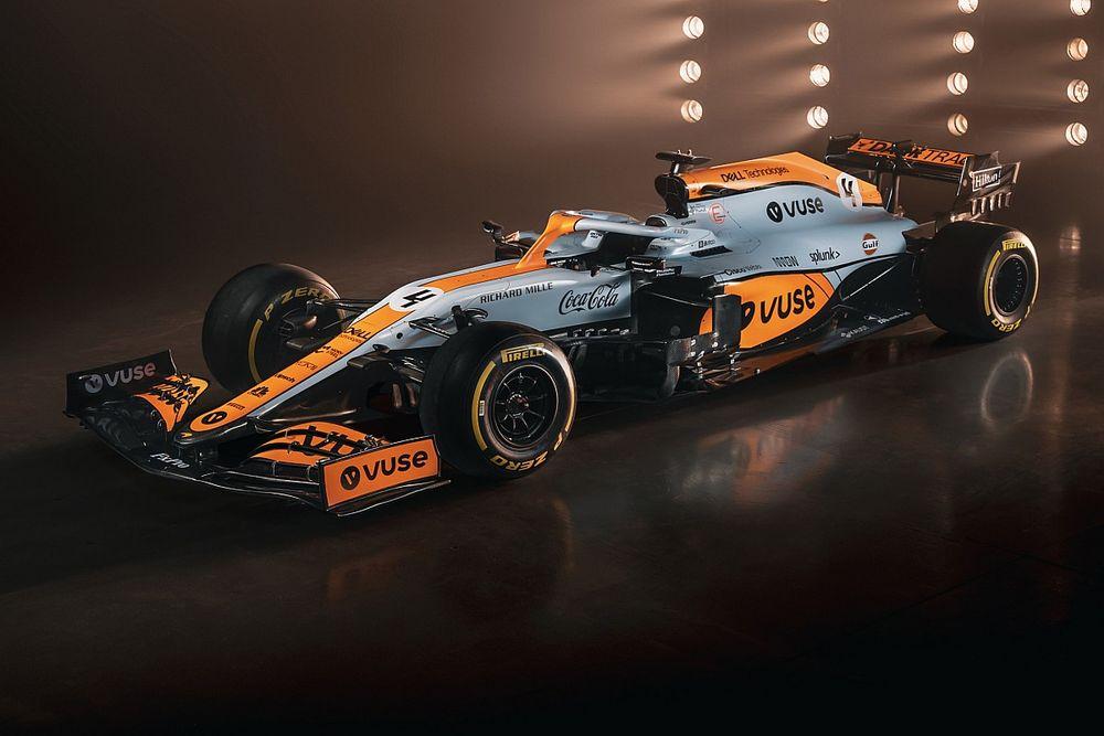 F1: ecco la stupenda livrea McLaren-Gulf per il GP di Monaco