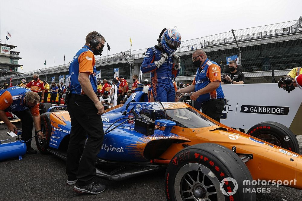 """Dixon didn't want to know trim level before """"hairy"""" Indy 500 pole run"""