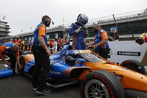 """Dixon didn't want to know trim level before """"hairy"""" pole run"""