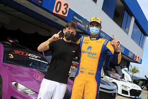 Thiago Camilo e Pedro Ferro fazem pole da GT Sprint Race em Goiânia