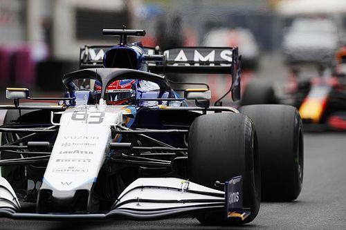 """Russell: """"Avusturya'da üçüncü bölüme kalmak, Williams için pole pozisyonu kazanmak gibi"""""""