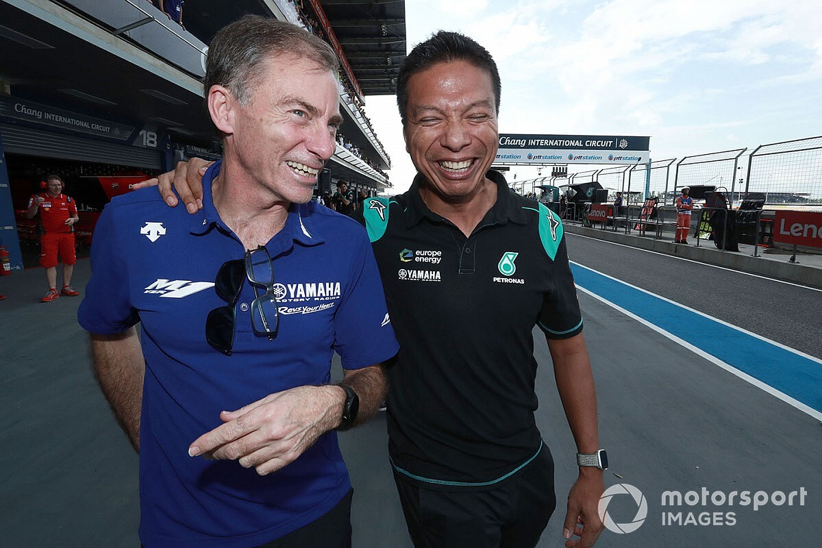 """Razali """"pas inquiet que Rossi puisse 'voler' les Yamaha"""" à Petronas"""