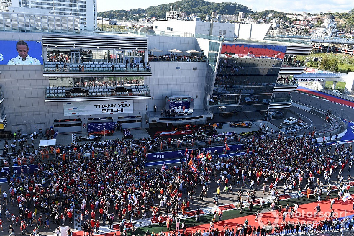 "Russian GP working on ""meticulous"" plan to allow F1 fans"