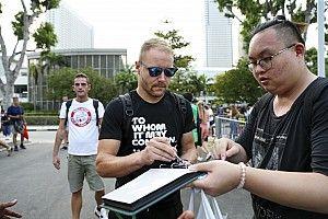 Bottas, Singapur'da duble umuyor