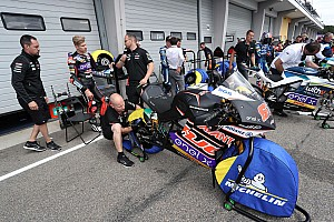 Brand in MotoE-paddock op Red Bull Ring