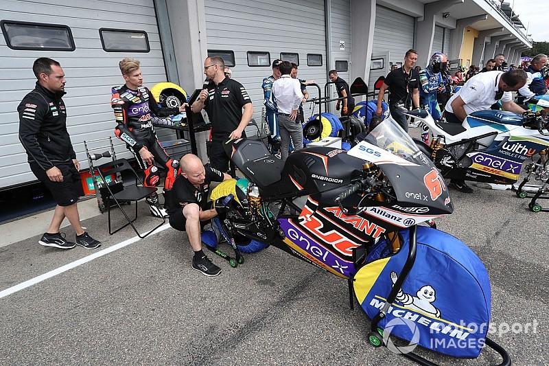 Brand in MotoE-paddock op Red Bull Ring