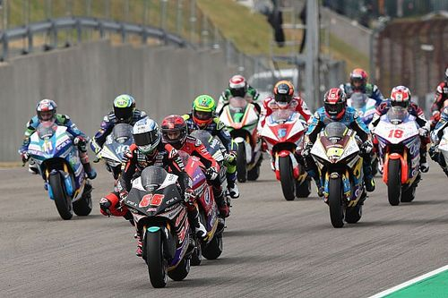 MotoE suffers further fire drama in Austria