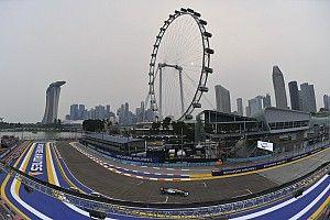 Онлайн. Гран При Сингапура: третья тренировка
