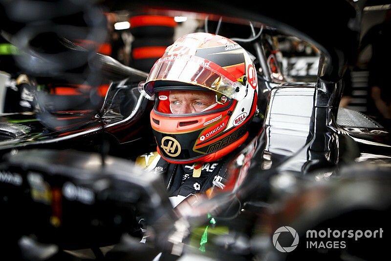 Magnussen: Pérez sabe que el choque fue culpa suya