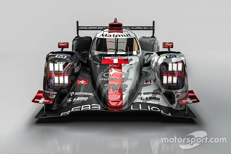 Rebellion reveals livery for 2019/20 WEC season