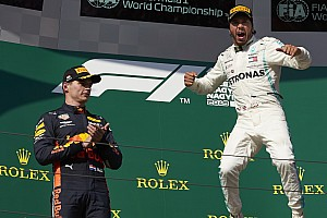 """Verstappen : """"Hamilton no ha tenido a los compañeros más fuertes"""""""