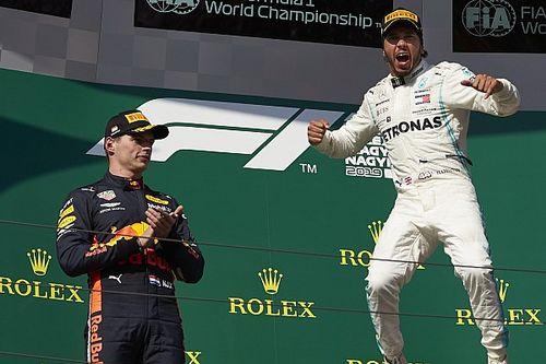 """Verstappen : """"Hamilton no tuvo a los compañeros más fuertes"""""""