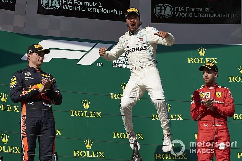 Estadísticas: Hamilton a 10 victorias del récord de Schumacher