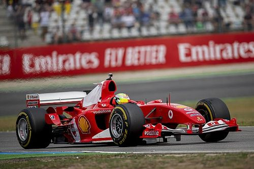 Filho de Schumi guia Ferrari do pai em Mugello; Vettel tentou comprar o carro
