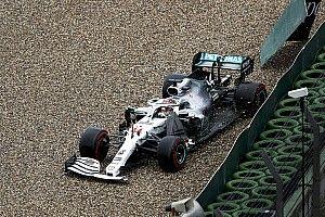 VÍDEO: Veja erros de Hamilton e Bottas no GP da Alemanha de F1