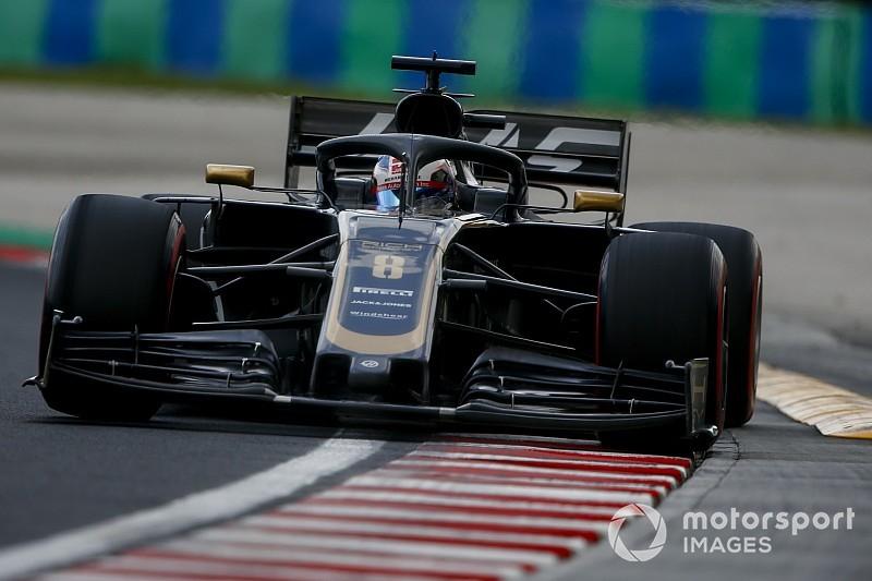 Diaporama : le suisse Romain Grosjean au Grand Prix de Hongrie