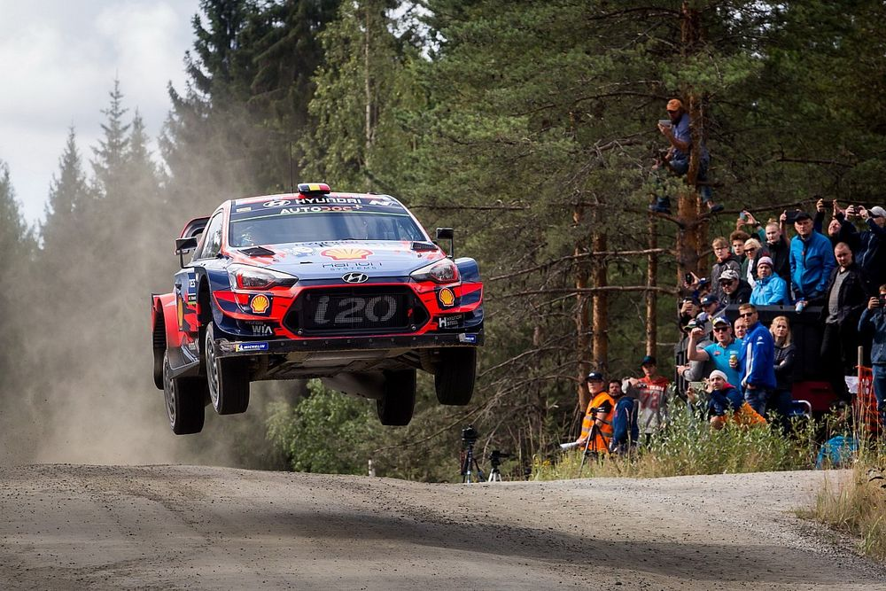 WRC reveals new format for 70th anniversary Rally Finland