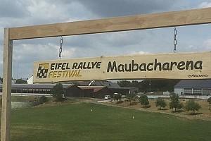 Wypadek z udziałem kibiców na Eifel Rallye
