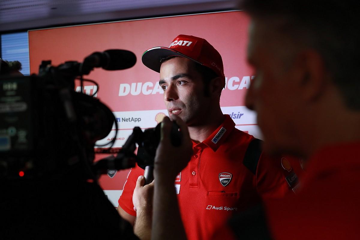 """Petrucci: """"Alla Ducati manca il passo, dobbiamo gestire la gomma"""""""