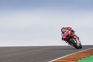 Une chute à près de 200 km/h pour Petrucci et pas de grosse blessure