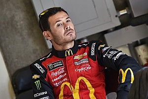 NASCAR and Ganassi suspend Kyle Larson for racial slur