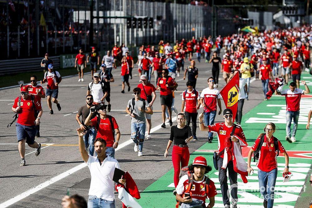 250 sanitarios acudirán al GP de Italia de F1 como espectadores