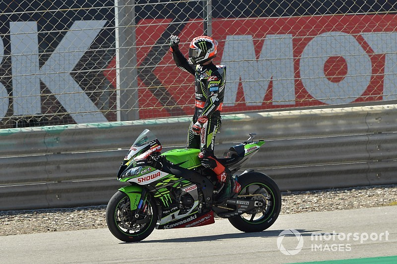 Portimao WSBK: Rea wins Superpole race from Bautista