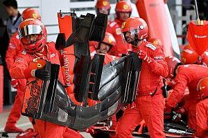 Vettel legnagyobb problémája a Ferrari első szárnya?