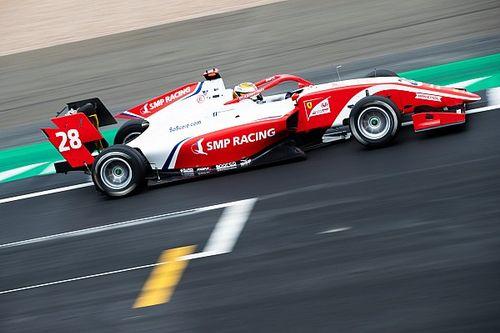 F3, Monza: Shwartzman in testa nelle Libere prima della pioggia