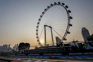 Lees terug: Leclerc ook in Singapore de snelste