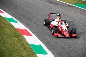 F3モンツァレース1:大クラッシュ発生でSC先導のまま終了。プレマが表彰台独占。角田4位