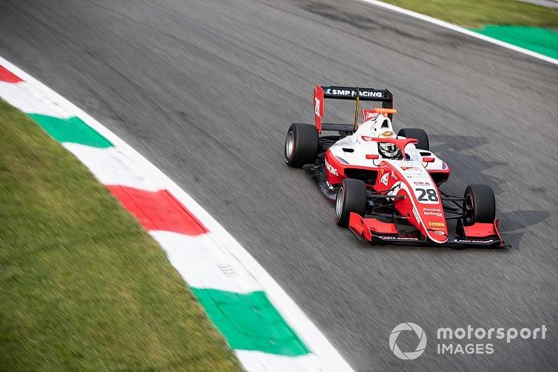 Shwartzman gana en una carrera de Monza con un susto terrible