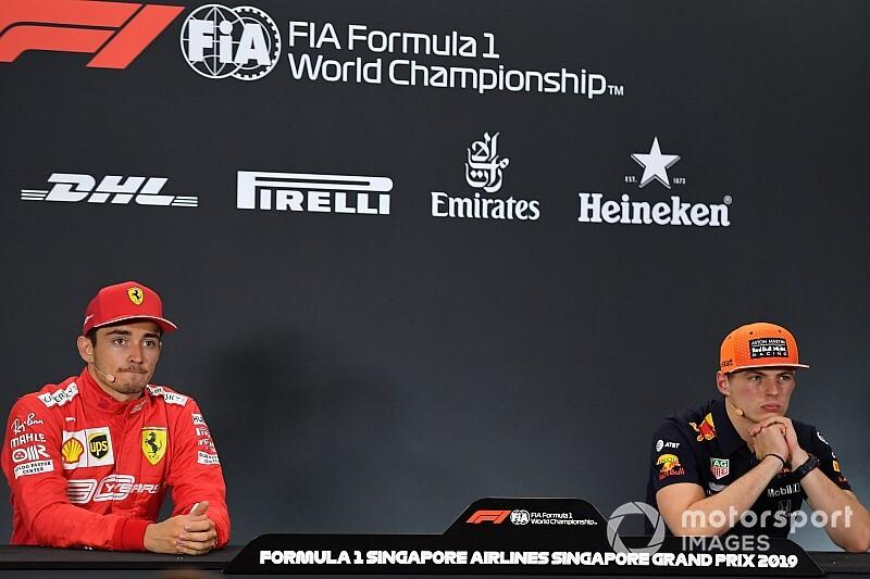 Verstappen nem tudja megítélni, Leclerc mennyire jó