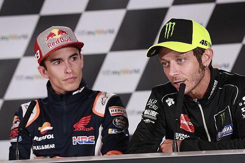 Marquez Tak Merasa Bertanggung Jawab Ambil Peran Rossi