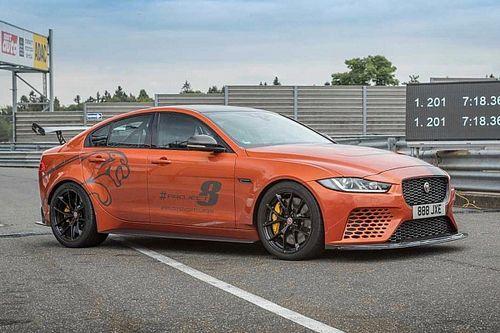Jaguar Project 8 bate su propio récord en el Nürburgring