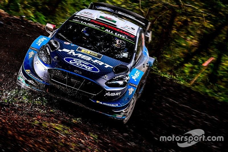 WRC, Rally Galles, PS11: Evans riparte forte. Neuville terzo