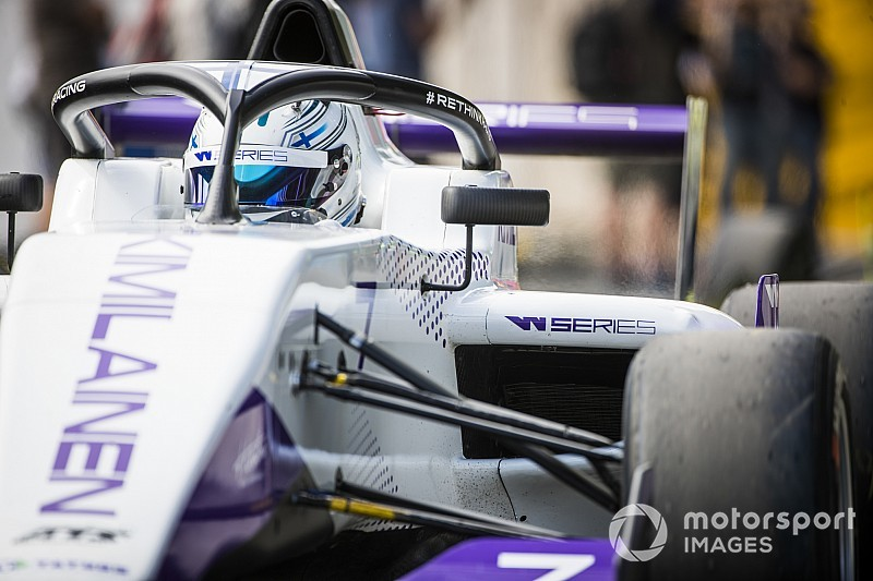 Kimilainen logra el mejor tiempo en la W Series en Assen