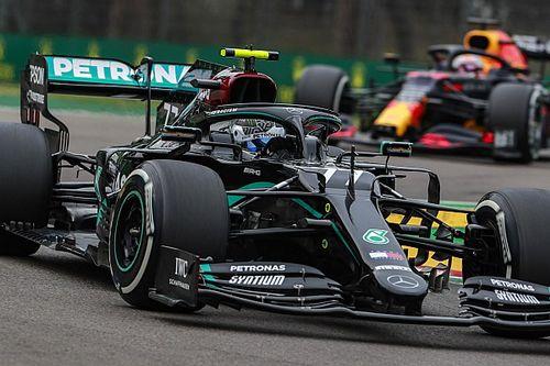 Как Mercedes крупно ошибся с шинами в Имоле. И подарил Ферстаппену шанс на победу – правда, ну очень маленький