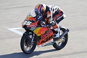 Moto3, Teruel: Fernandez in pole, Arbolino e Vietti in 1° fila