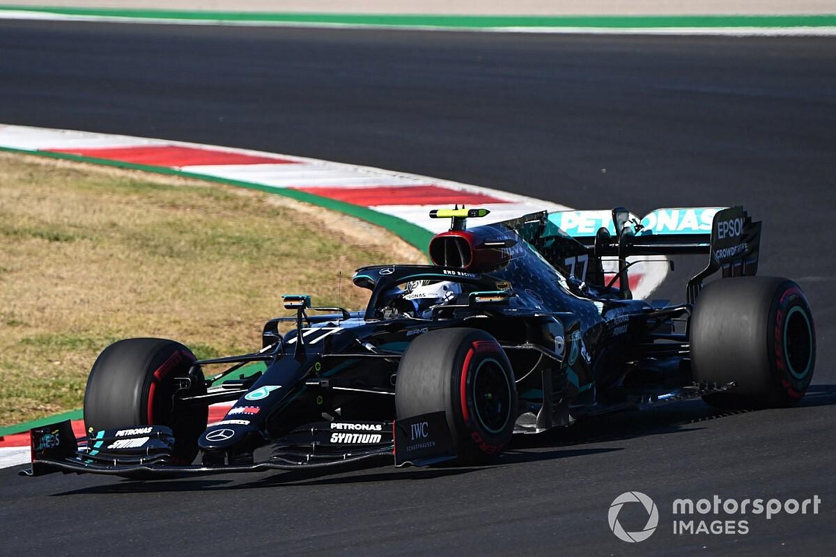 Hamilton de slimste in kwalificatie Portugal, Bottas heeft spijt