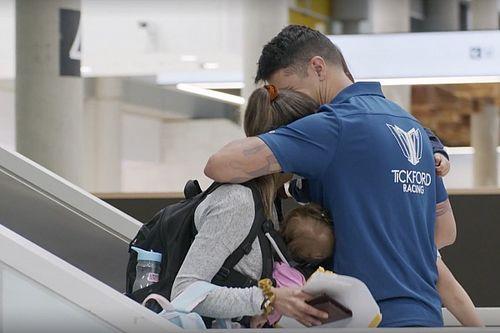 Video: Tickford crew's emotional family reunion