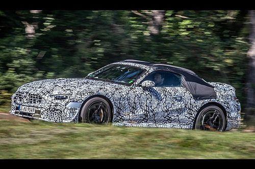 Nuova Mercedes SL, le foto dei prototipi firmati AMG