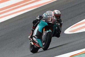 Moto2, Europa: Vierge in pole a sorpresa, Bastianini 15°