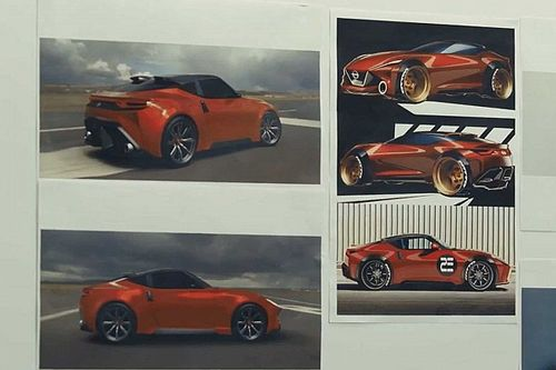 Nissan Quietly Reveals Aggressive Z Proto Left On Cutting Room Floor