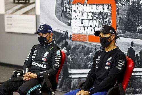 F1: Bottas aposta na primeira volta para superar Hamilton em Spa