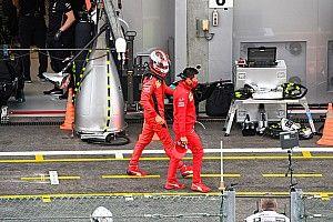 Leclerc ve los mismos problemas para Ferrari en Monza
