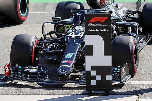 La parrilla de salida del GP de Italia de Fórmula 1
