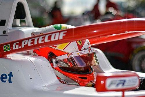 Em Barcelona, Gianluca Petecof vai ao pódio de novo e lidera F3 Regional Europeia por 4 pontos